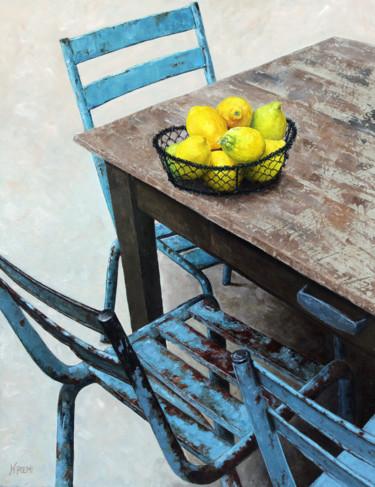 Citrons et vieilles chaises