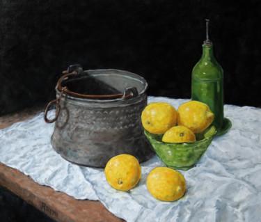 Citrons et chaudron
