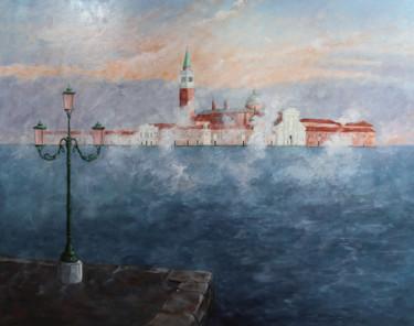 San Giorgio Maggiore, soirée brumeuse.